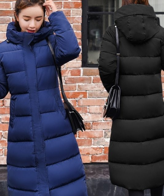 Plus size 3XL Down jackets 2019 Fashion Women Winter Coat Long Slim Thicken Warm Jacket Down Cotton from Todays Fashion