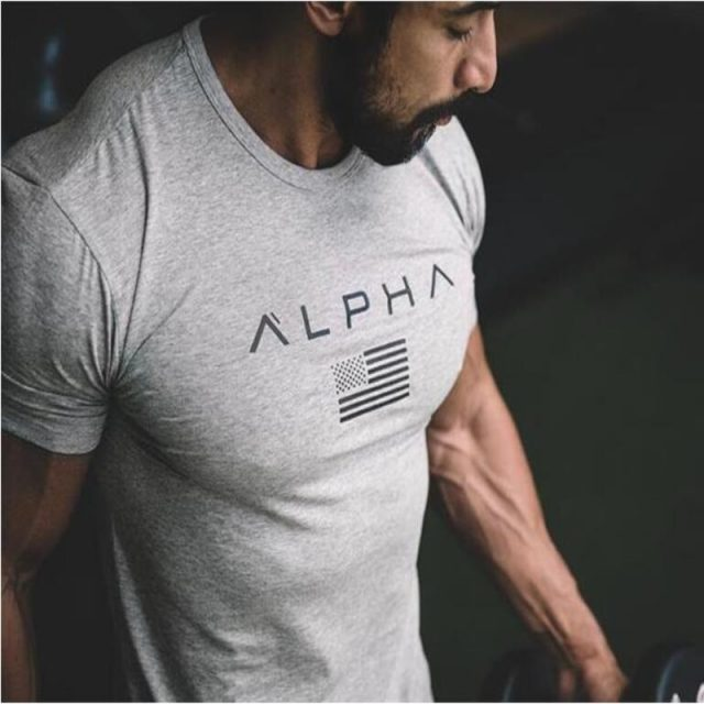 2018 Mens Military Army T Shirt 2017 Men Star Loose Cotton T-shirt O-neck Alpha America from Todays Fashion
